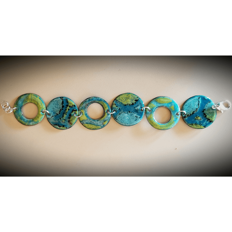 custom contemporary enameled jewelry bracelet portsmouth nh 4