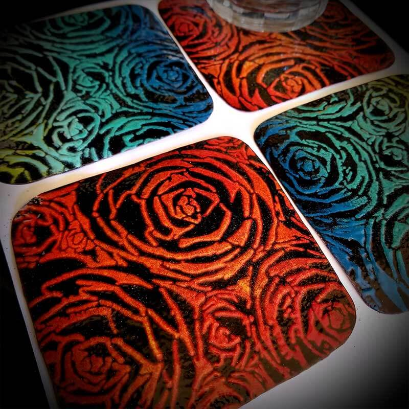 custom contemporary enameled coasters portsmouth nh 9