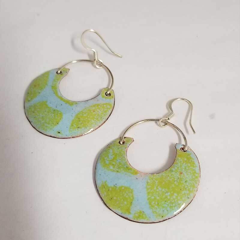 custom contemporary enameled jewelry earring maker portsmouth nh 15