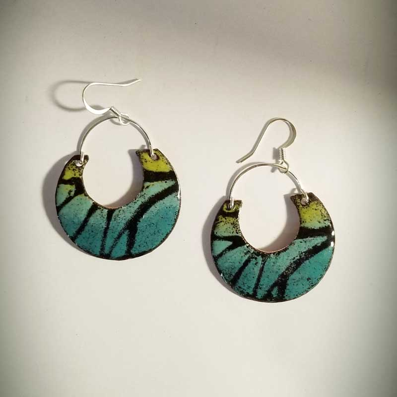 custom contemporary enameled jewelry earring maker portsmouth nh 16