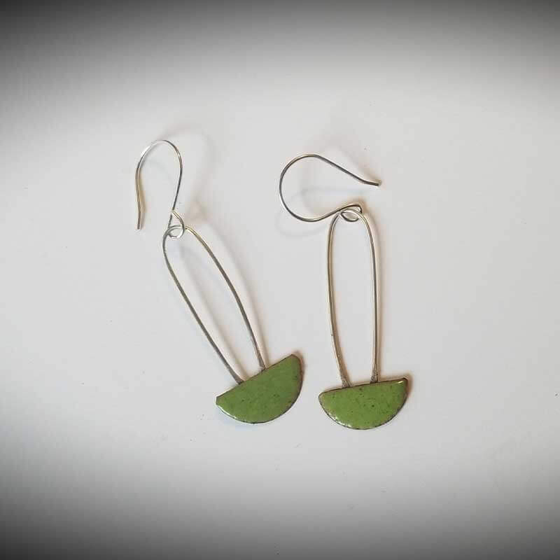 custom contemporary enameled jewelry earring maker portsmouth nh 19