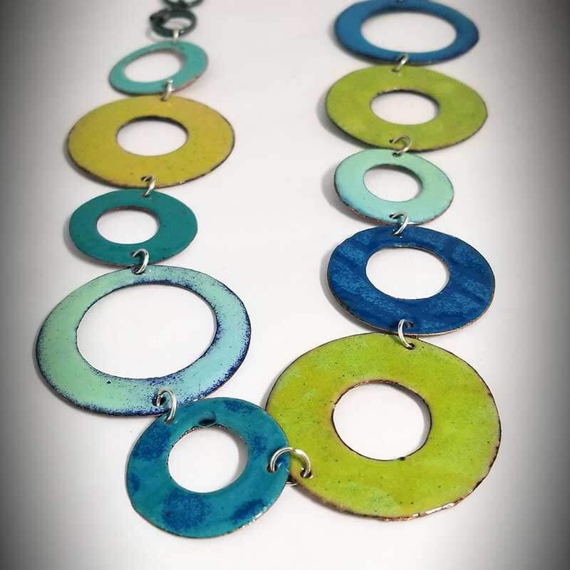 custom contemporary enameled jewelry necklace maker portsmouth nh 3