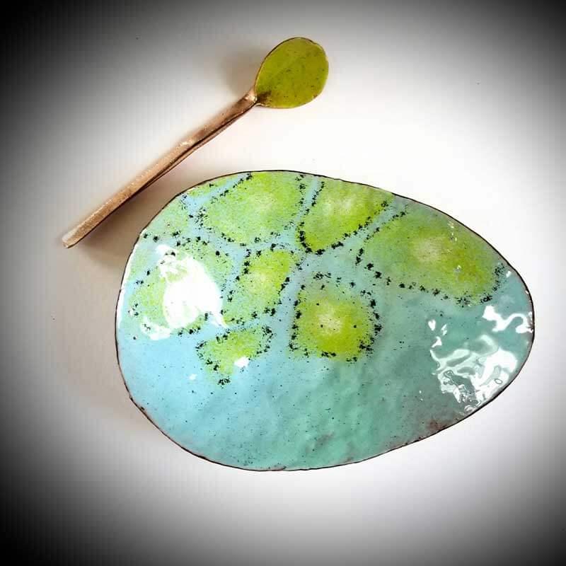 custom contemporary enamelware egg bowl maker portsmouth nh 1