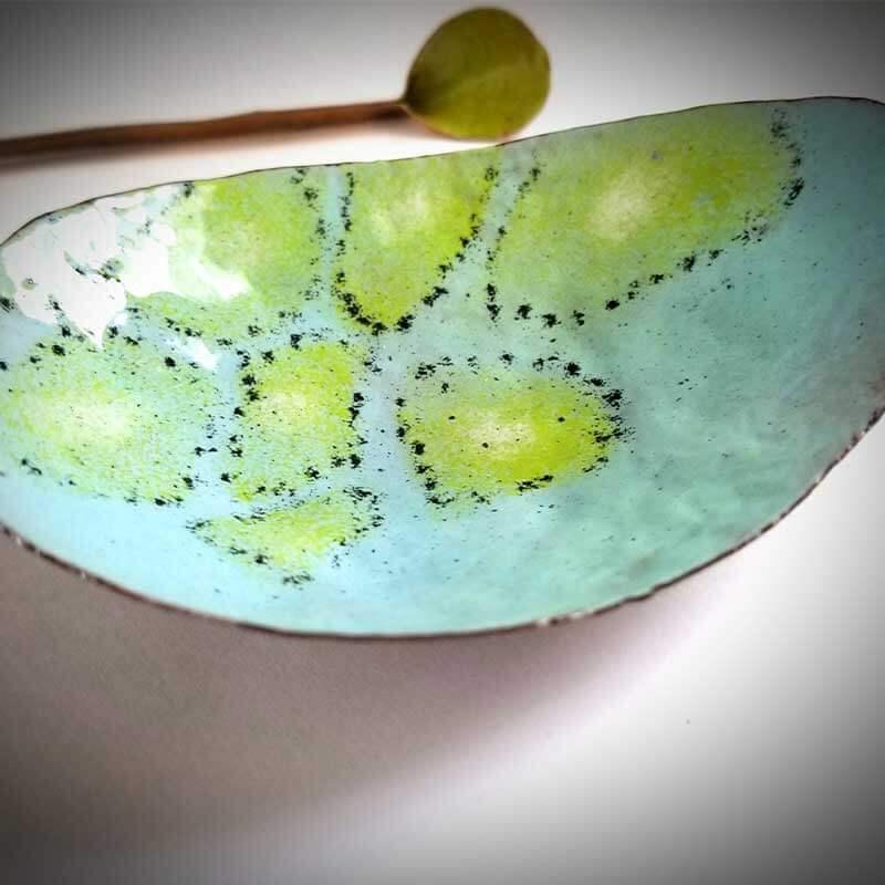 custom contemporary enamelware egg bowl maker portsmouth nh 2