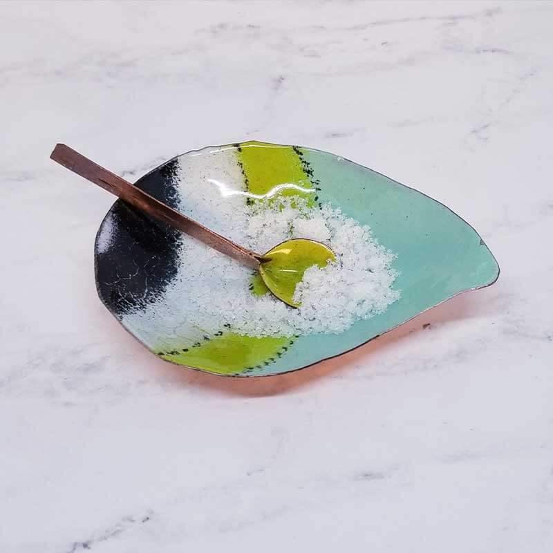 custom contemporary enamelware salt cellars maker portsmouth nh 27