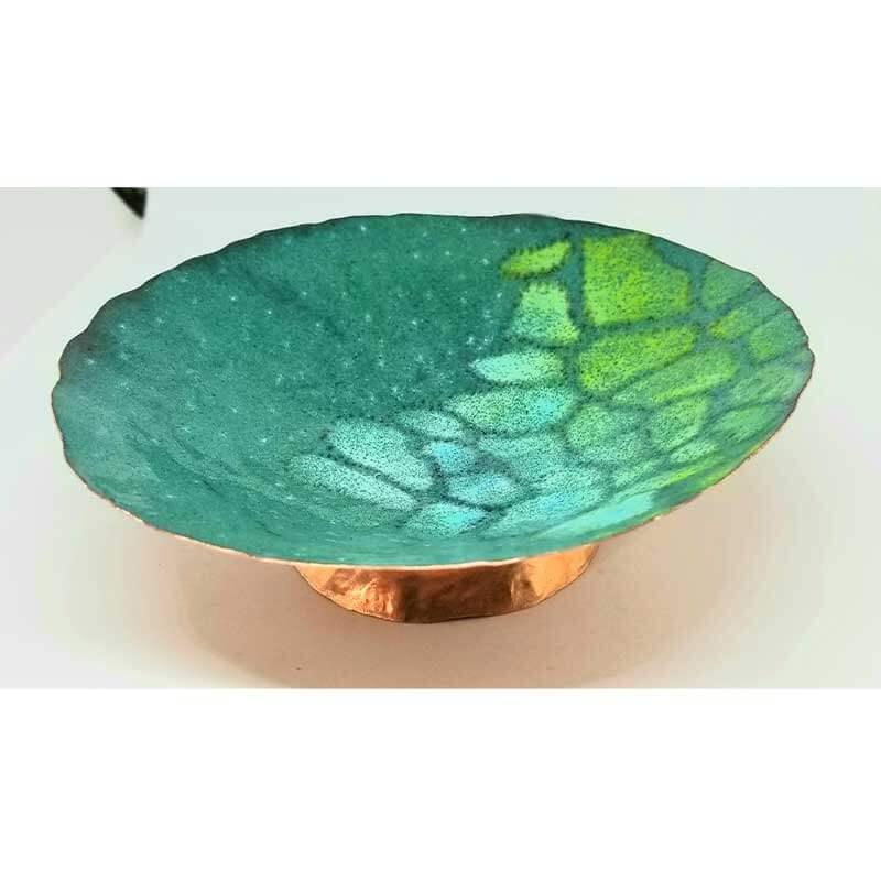 custom contemporary enamelware large enameled bowl maker portsmouth nh 1